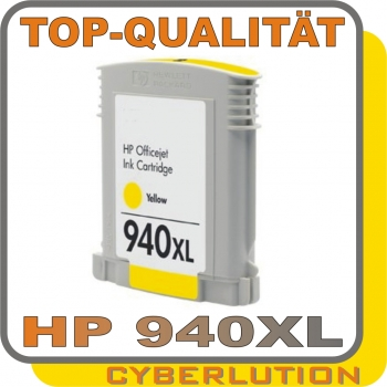 X-Jet HP C4909AE Tintenpatrone Yellow No.940XL