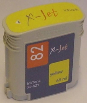 X-Jet HP C4913A Tintenpatrone Yellow No.82