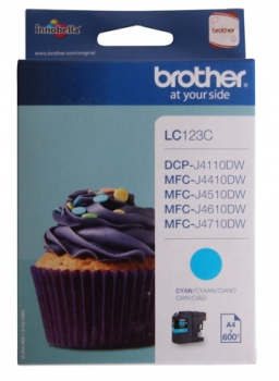 Brother LC123C Tintenpatrone Cyan