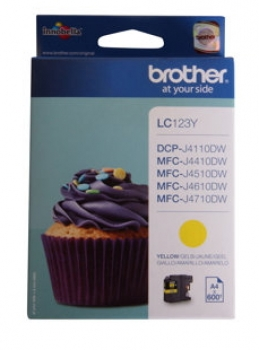 Brother LC123Y Tintenpatrone Yellow