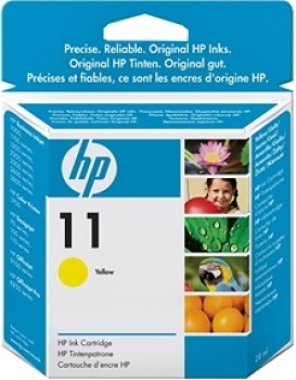 HP C4838A Tintenpatrone Yellow No.11