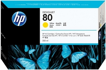 HP C4848A Tintenpatrone Yellow No.80