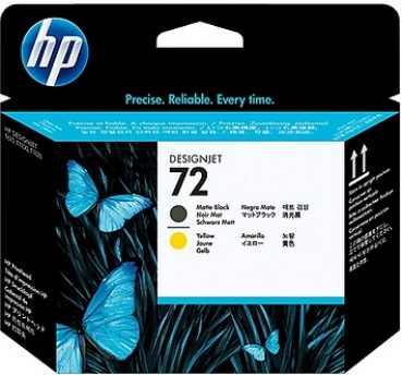 HP C9384A Druckkopf Black / Yellow No.72