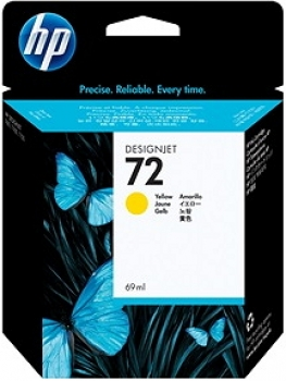 HP C9400A Tintenpatrone Yellow No.72