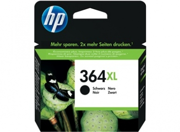HP CN684EE Tintenpatrone Black No.364XL