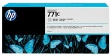 HP B6Y14A Tintenpatrone Light Gray No.771