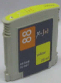 X-Jet HP C9393AE Tintenpatrone Yellow No.88